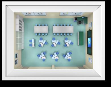 实验室基础设施包括吊顶单元 地面单元、和中央智能控制系统。