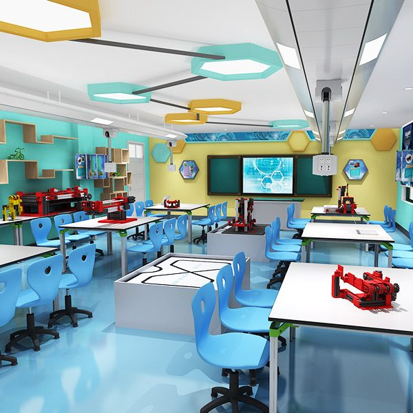 教室承载课程实施,因此教室功能的规划应基于课程先行,依据学校的学科与课程建设的定位。在此基础上的建筑、装修的设计才能更好的体现和辅助课程的具体落实。